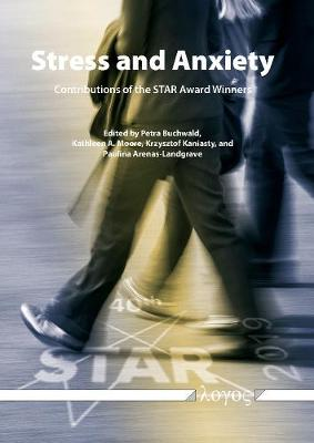 Stress and Anxiety - Contributions of the Star Award Winners (Paperback)