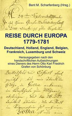 Reise Durch Europa 1779-1781 (Paperback)