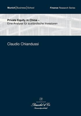 Private Equity in China (Paperback)