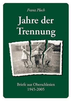 Jahre Der Trennung (Paperback)