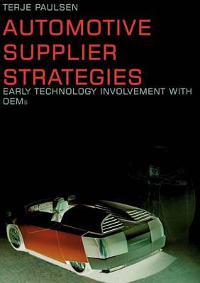 Automotive Supplier Strategies (Paperback)