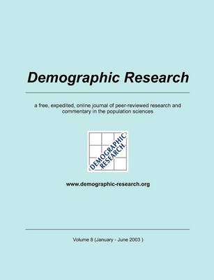 Demographic Research, Volume 8 (Paperback)