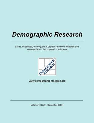 Demographic Research, Volume 13 (Paperback)