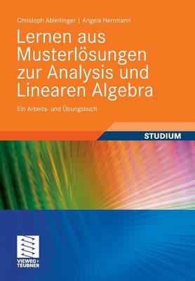 Lernen Aus Musterlosungen Zur Analysis Und Linearen Algebra: Ein Arbeits- Und Ubungsbuch (Paperback)