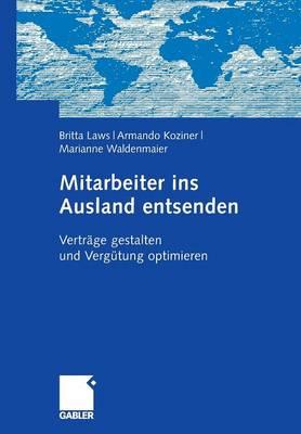 Mitarbeiter Ins Ausland Entsenden: Vertr ge Gestalten Und Verg tung Optimieren (Paperback)