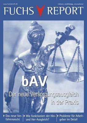 Bav - Der Neue Versorgungsausgleich (Paperback)