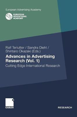 Advances in Advertising Research (Vol. 1): Cutting Edge International Research - European Advertising Academy (Hardback)