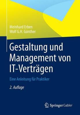 Gestaltung Und Management Von It-Vertragen: Eine Anleitung Fur Praktiker (Paperback)