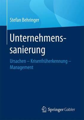 Unternehmenssanierung: Ursachen - Krisenfr herkennung - Management (Paperback)