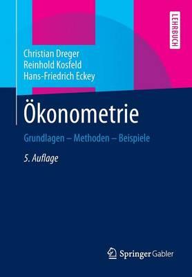 �konometrie: Grundlagen - Methoden - Beispiele (Paperback)