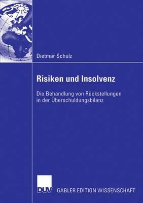 Risiken Und Insolvenz: Die Behandlung Von Ruckstellungen in Der UEberschuldungsbilanz (Paperback)