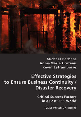 Effective Strategies to Ensure Business Continuity/Disaster Recovery (Paperback)