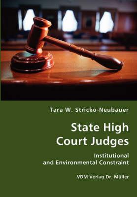 State High Court Judges (Paperback)