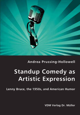 Standup Comedy as Artistic Expression (Paperback)
