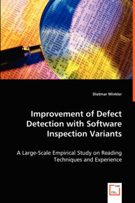Improvement of Defect Detection with Software Inspection Variants (Paperback)