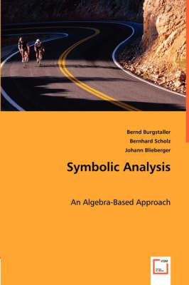 Symbolic Analysis (Paperback)