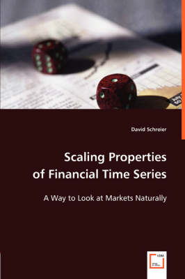 Scaling Properties of Financial Time Series (Paperback)
