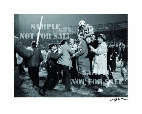 "Neil Leifer: Art Edition ""Alan Ameche"": The Golden Age of American Football, 1958-1978 (Hardback)"