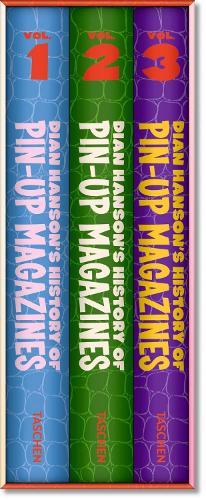 History of Pin-up Magazines: Volume 1 to 3 (Hardback)