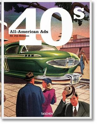 All-American Ads of the 40s (Hardback)