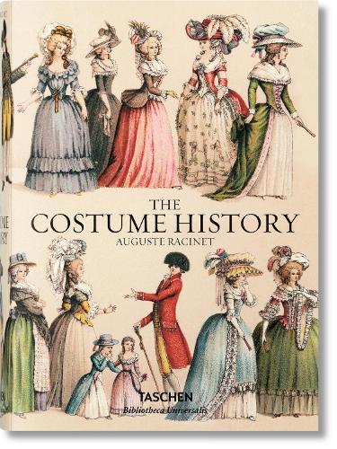 Auguste Racinet. The Costume History (Hardback)
