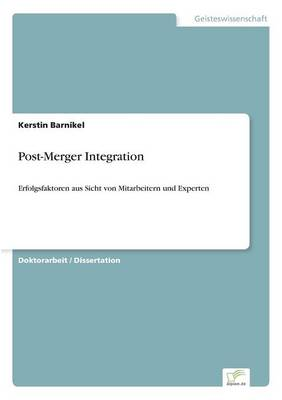 Post-Merger Integration (Paperback)