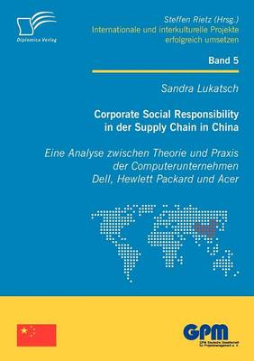 Corporate Social Responsibility in Der Supply Chain in China (Paperback)