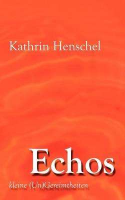 Echos (Paperback)
