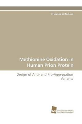 Methionine Oxidation in Human Prion Protein (Paperback)