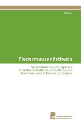 Fledermausanasthesie (Paperback)