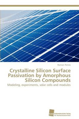 Crystalline Silicon Surface Passivation by Amorphous Silicon Compounds (Paperback)