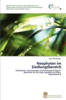 Neophyten Im Siedlungsbereich (Paperback)