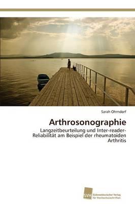 Arthrosonographie (Paperback)