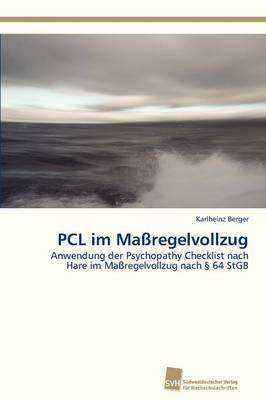 Pcl Im Massregelvollzug (Paperback)