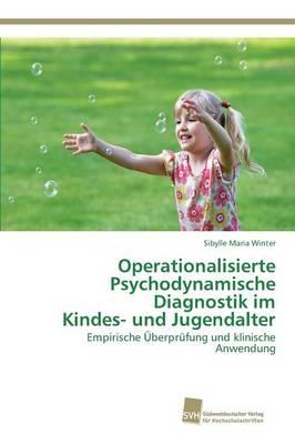 Operationalisierte Psychodynamische Diagnostik Im Kindes- Und Jugendalter (Paperback)