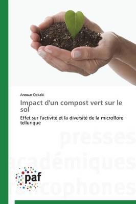 Impact d'Un Compost Vert Sur Le Sol - Omn.Pres.Franc. (Paperback)