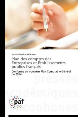 Plan Des Comptes Des Entreprises Et �tablissements Publics Fran�ais - Omn.Pres.Franc. (Paperback)