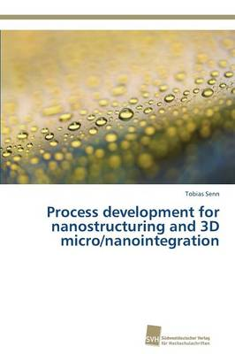 Process Development for Nanostructuring and 3D Micro/Nanointegration (Paperback)
