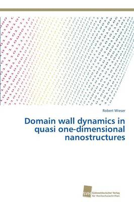 Domain Wall Dynamics in Quasi One-Dimensional Nanostructures (Paperback)