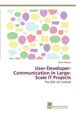 User-Developer-Communication in Large-Scale It Projects (Paperback)