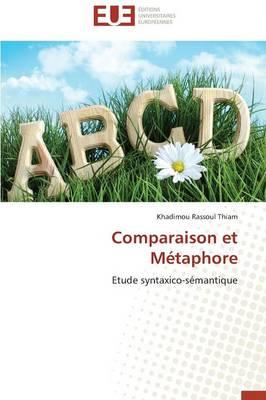 Comparaison Et M�taphore - Omn.Univ.Europ. (Paperback)