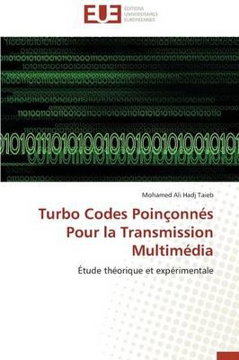 Turbo Codes Poin�onn�s Pour La Transmission Multim�dia - Omn.Univ.Europ. (Paperback)