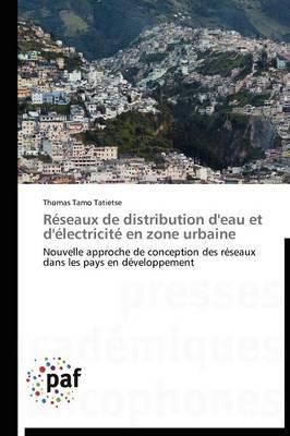 Reseaux de Distribution d'Eau Et d'Electricite En Zone Urbaine - Omn.Pres.Franc. (Paperback)