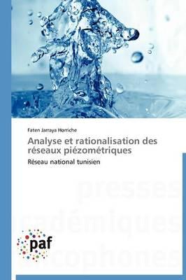 Analyse Et Rationalisation Des R�seaux Pi�zom�triques - Omn.Pres.Franc. (Paperback)