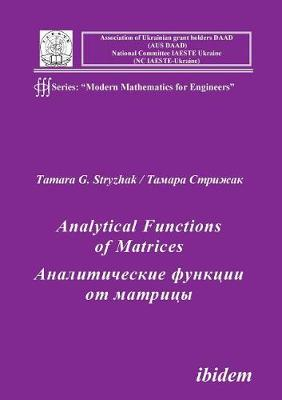 Analytical Functions of Matrices. (Paperback)