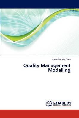 Quality Management Modelling (Paperback)
