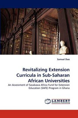 Revitalizing Extension Curricula in Sub-Saharan African Universities (Paperback)