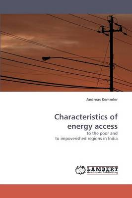 Characteristics of Energy Access (Paperback)