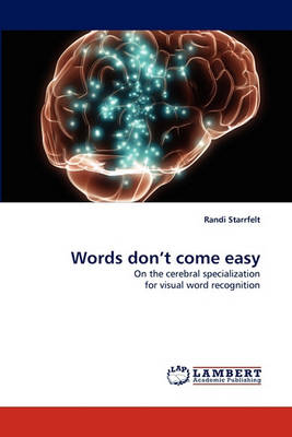 Words Don't Come Easy (Paperback)