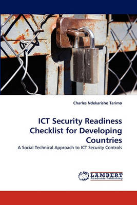 Ict Security Readiness Checklist for Developing Countries (Paperback)